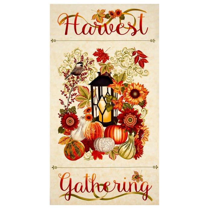 Harvest Gathering Panel Cream