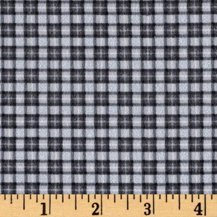Mini Plaid Flannel Grey