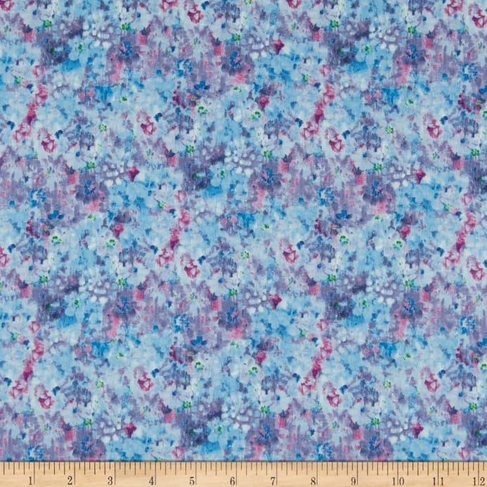 Bohemian Dreams - Flower Texture Blue