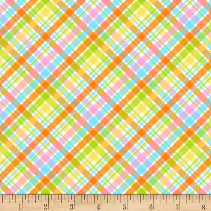 Carrot Patch Plaid