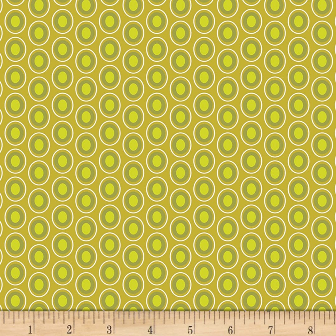 Oval Elements Chartreuse