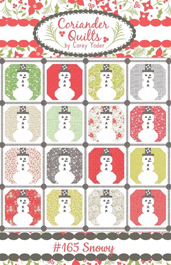 Holliberry Snowy Quilt Kit (87 x 87)