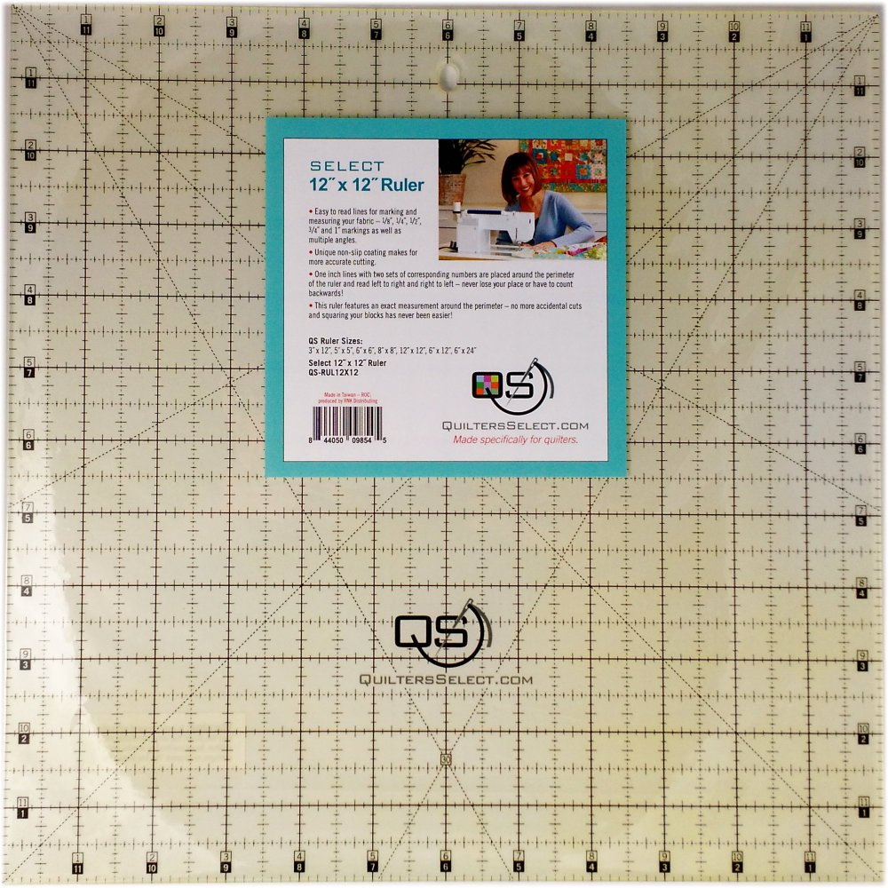 Quilters Select Ruler 12X12