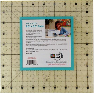 Quilters Select Ruler 8.5x8.5