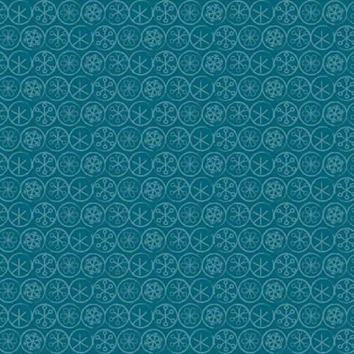 Heart & Home Flake Dot Dk. Blue