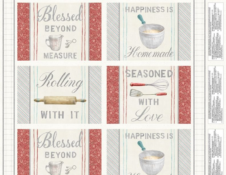 Homemade Happiness Placemat Panel (24x44) #69