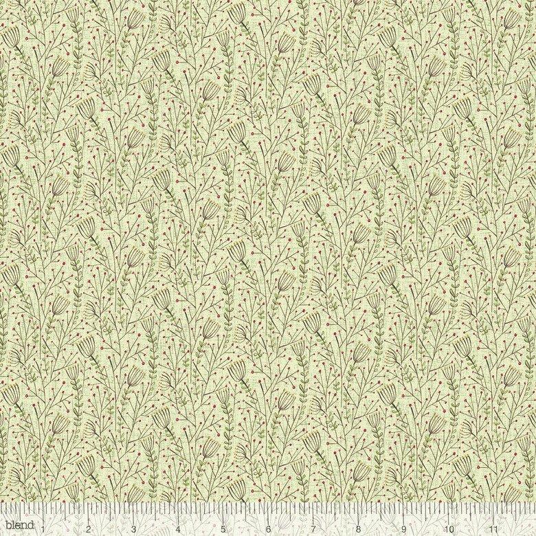 Cori Dantini Winter News - Lace Flowers Green