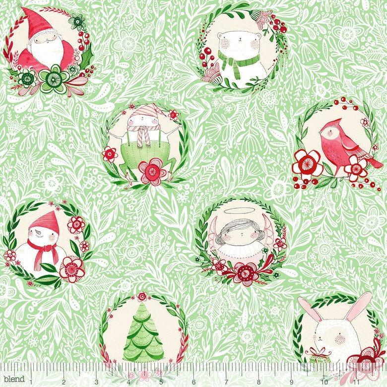 Merry & Bright Glad Tidings Green