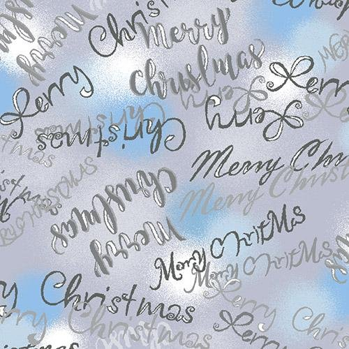 Blue Holidays Merry Christmas Blue