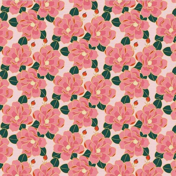 Magnolia Wonderland Floral Pink