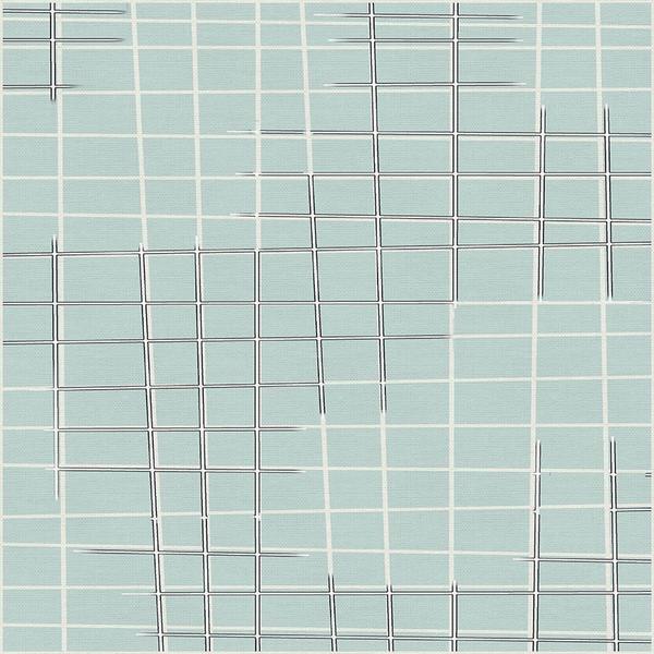 Sketchbook Broken Grid Aqua