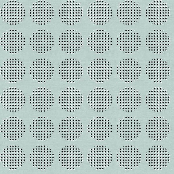 Sketchbook Stamped Circle Aqua
