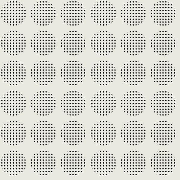Sketchbook Stamped Circle Ecru