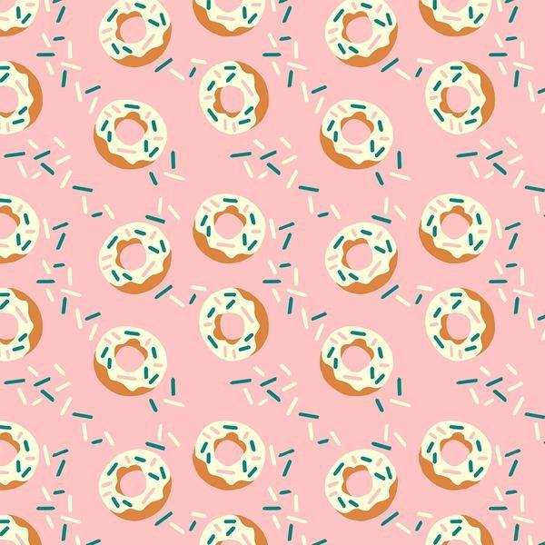 Food Trucks Donuts Pink