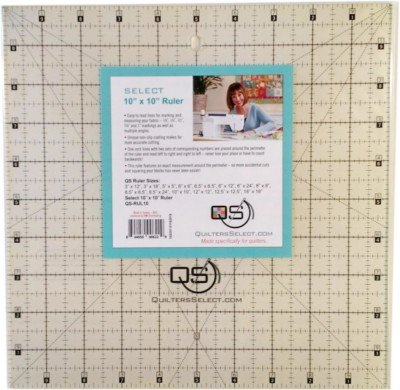 Quilters Select Ruler 10X10