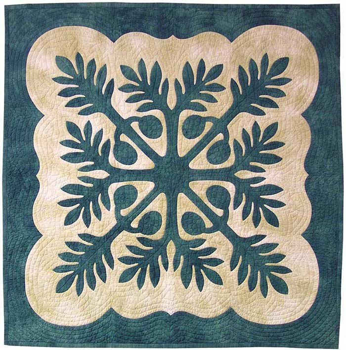 Breadfruit Wall Quilt Pattern (42 x 42)