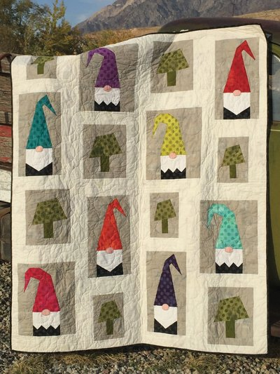 A Tale of Two Gnomes Kit (60x72)