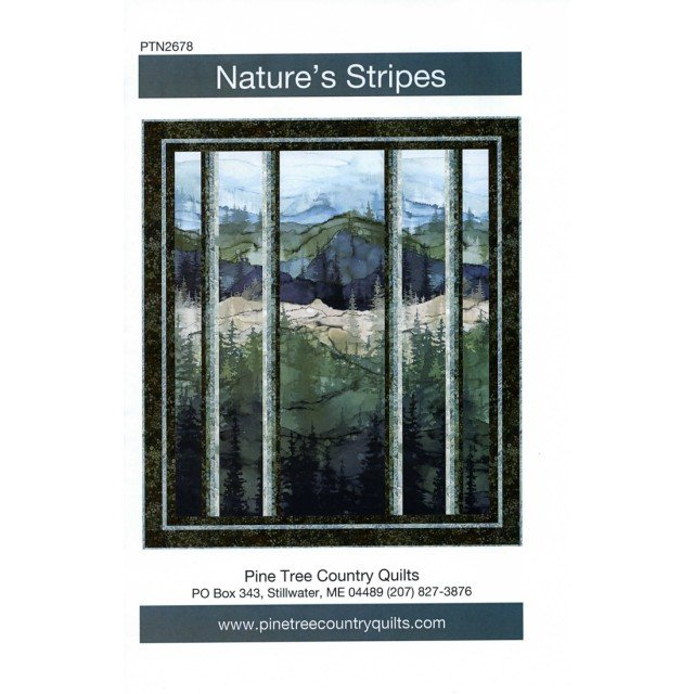 Nature's Stripes featuring Whispering Pines Kit (43x48)