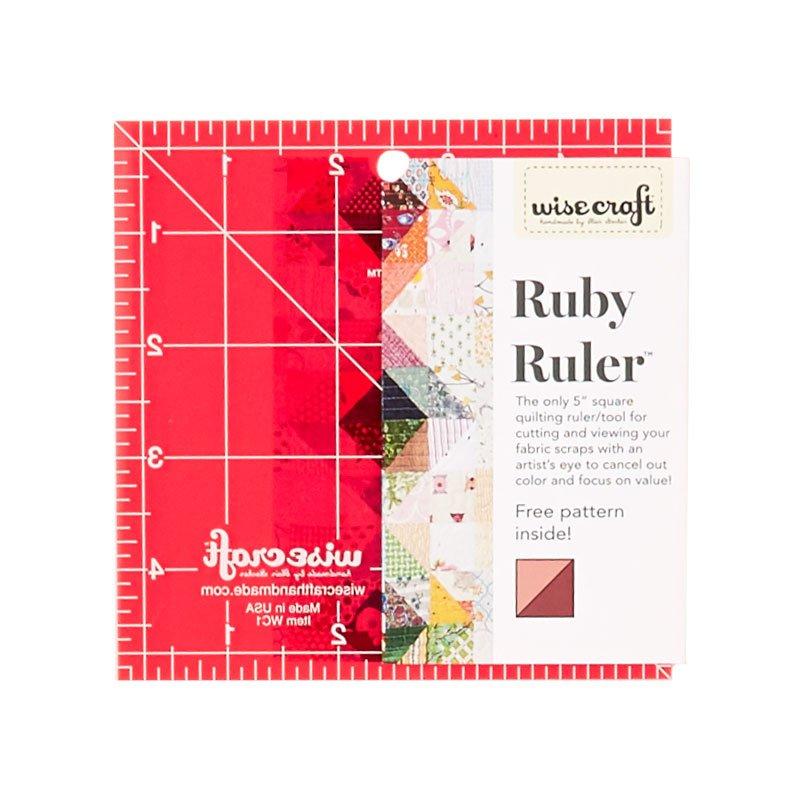 Ruby Ruler - Blair Stocker Ruler