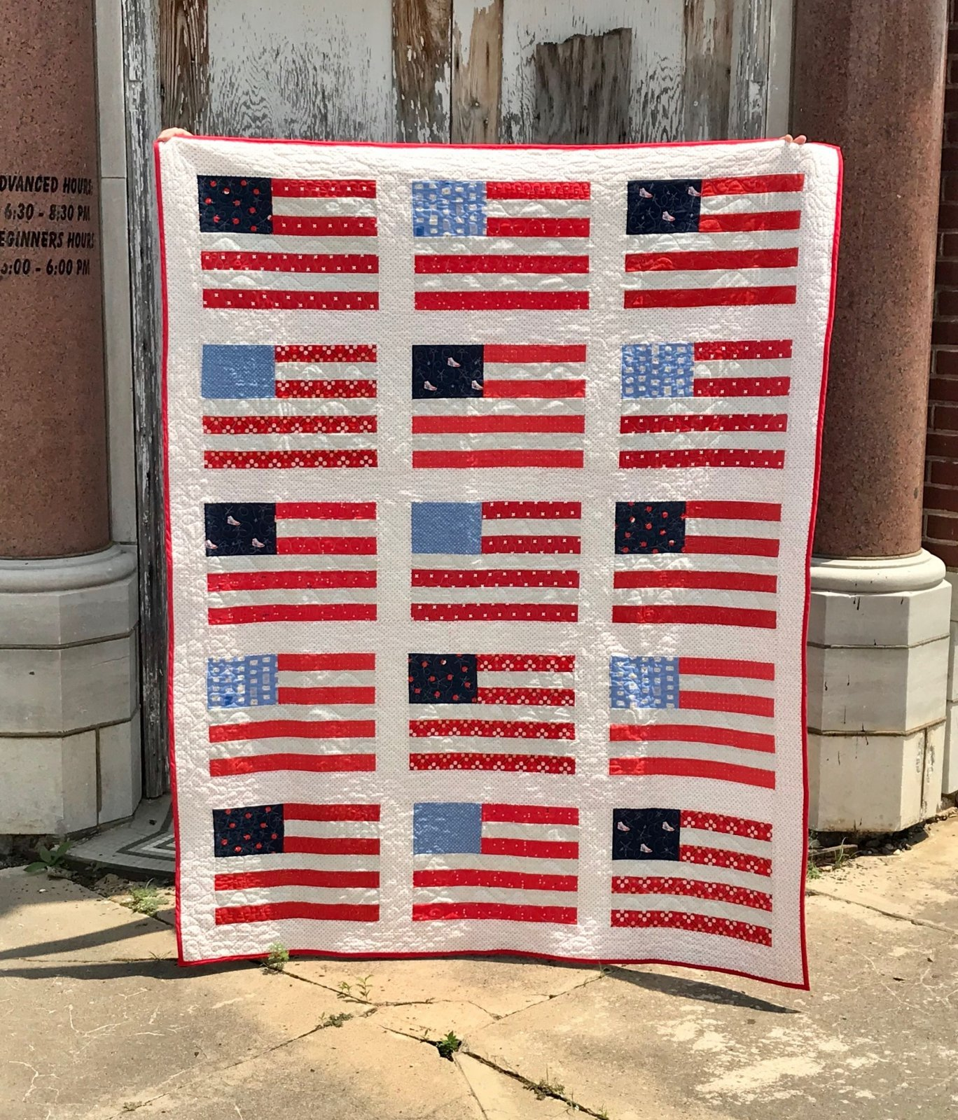 NEW Stars and Stripes Kit feat. American Gathering (56x71)