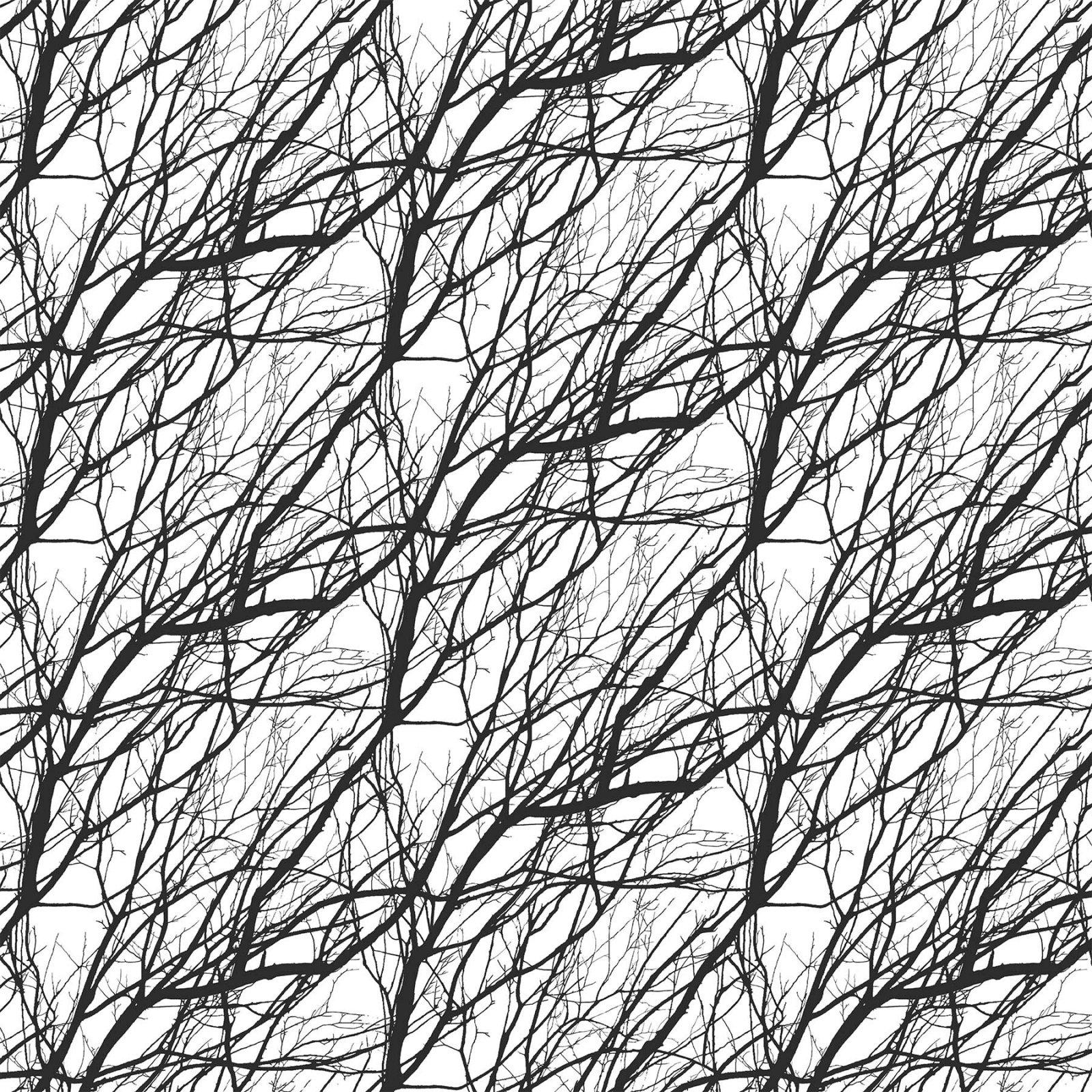 Silhouette Branches Black/White