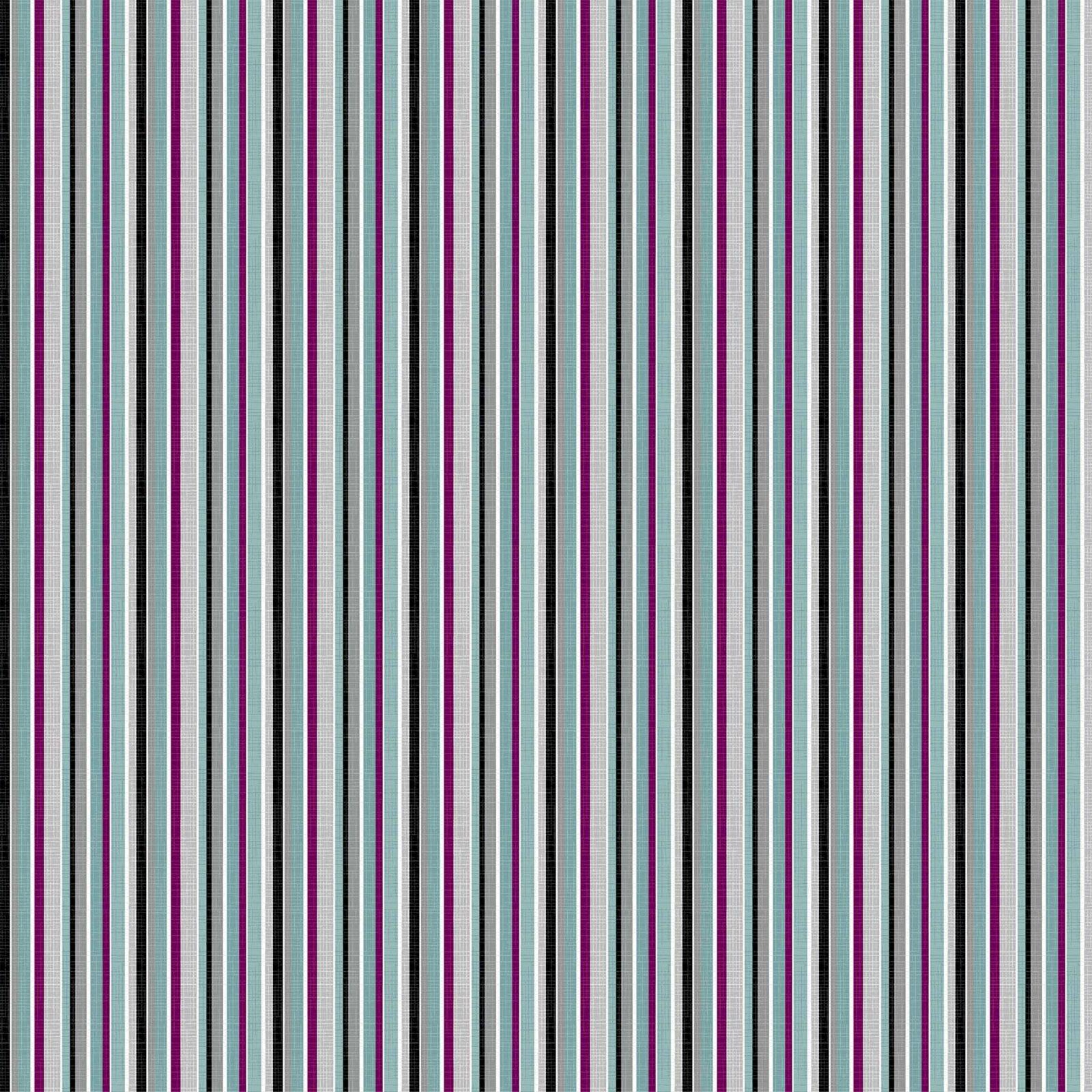 Silhouette Barcode Stripe Black/Multi