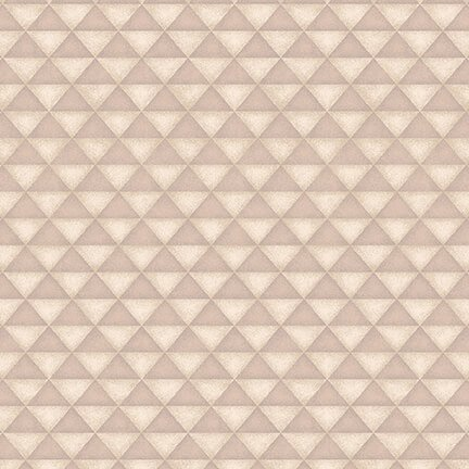 Folk Art Flannels 4 Half Square Triangles Cream