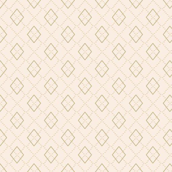 Folk Art Flannels 4 Argyle Cream