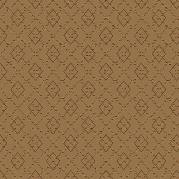 Folk Art Flannels 4 Argyle Cocoa