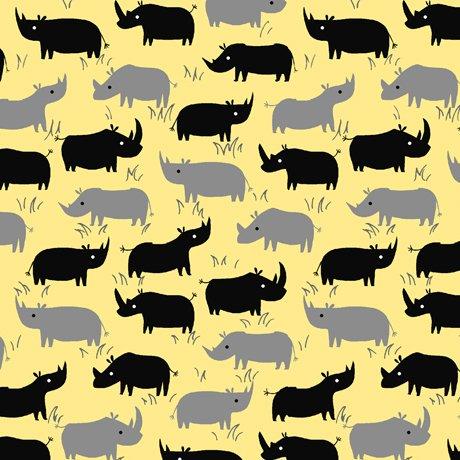 Dyno Rhino Silhouettes Yellow