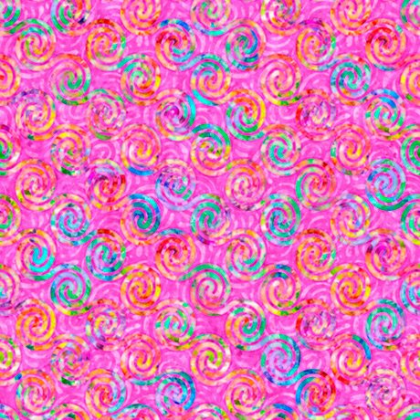 Brilliance Diagonal Scroll Pink