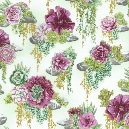 Oasis - Tranquil Trail - Thistle Fabric