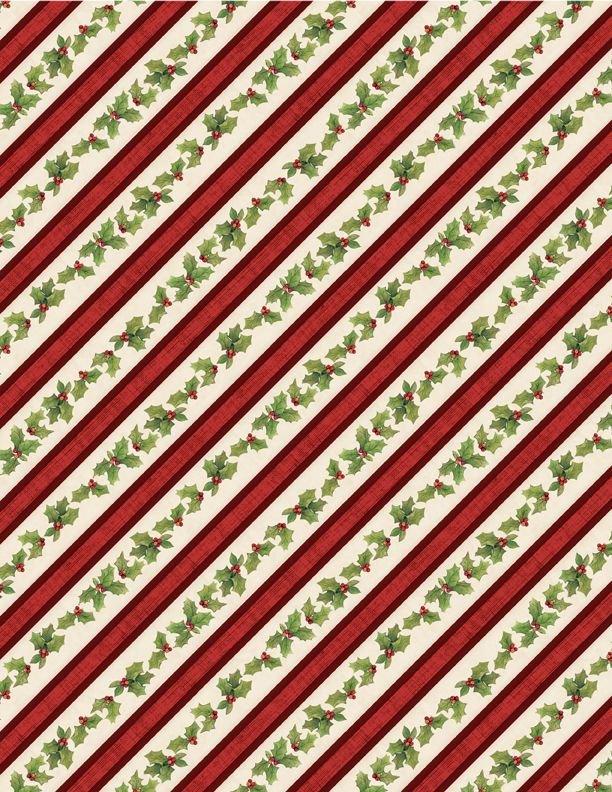 Evergreen Farm Holly Stripe Tan