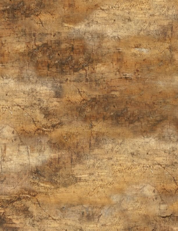 Cabin Welcome Flannel Forest Texture Brown