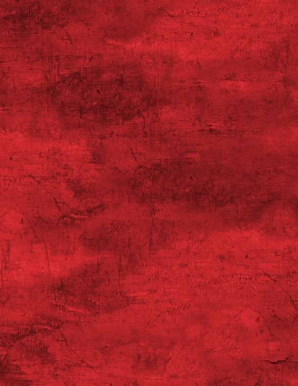 Cabin Welcome Flannel Forest Texture Red