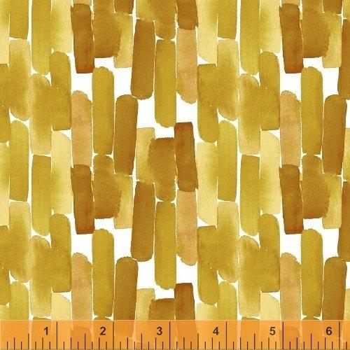 Flora - Gold Paint Stripes