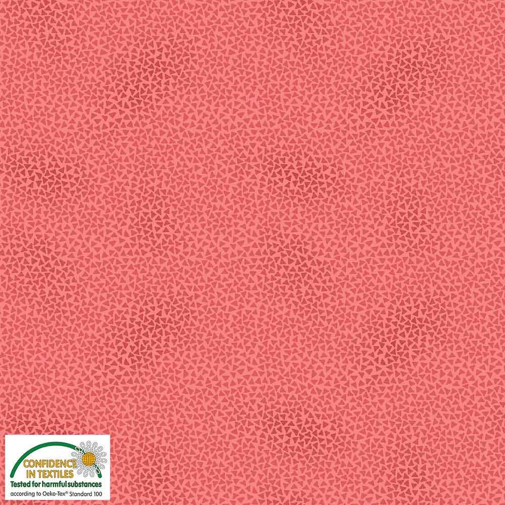 Quilters Combination Triangles Coral 002