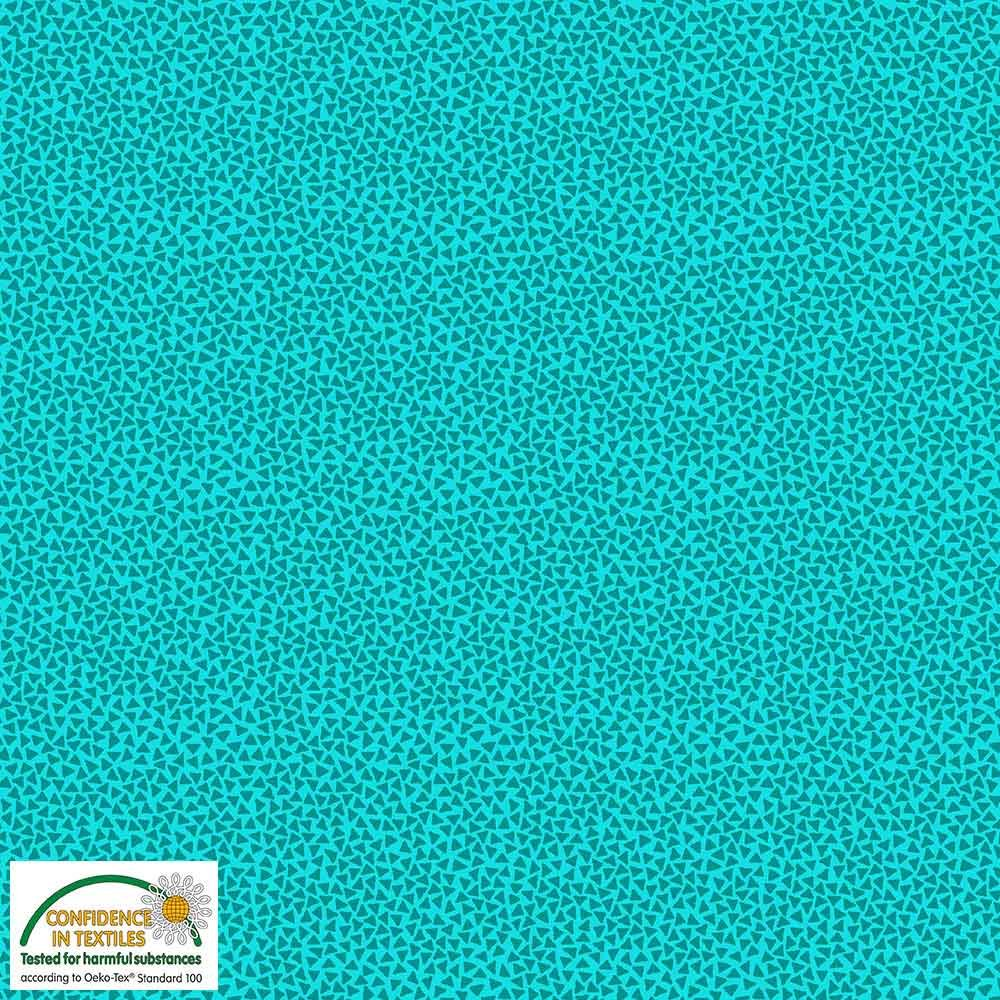 Quilters Combination Triangles Turquoise 004