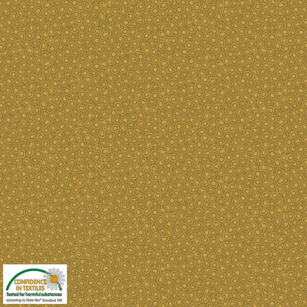 Quilters Combination Circles Mustard 011