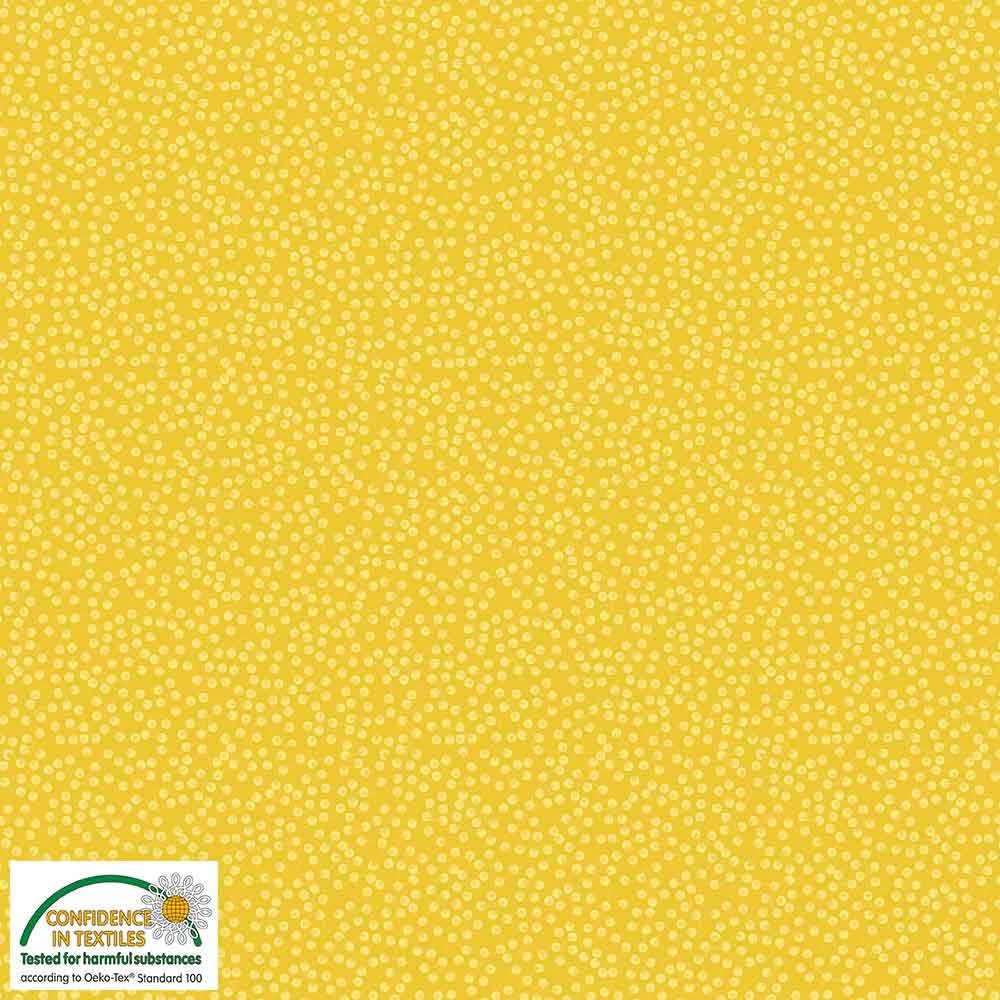 Quilters Combination Branches Yellow 015