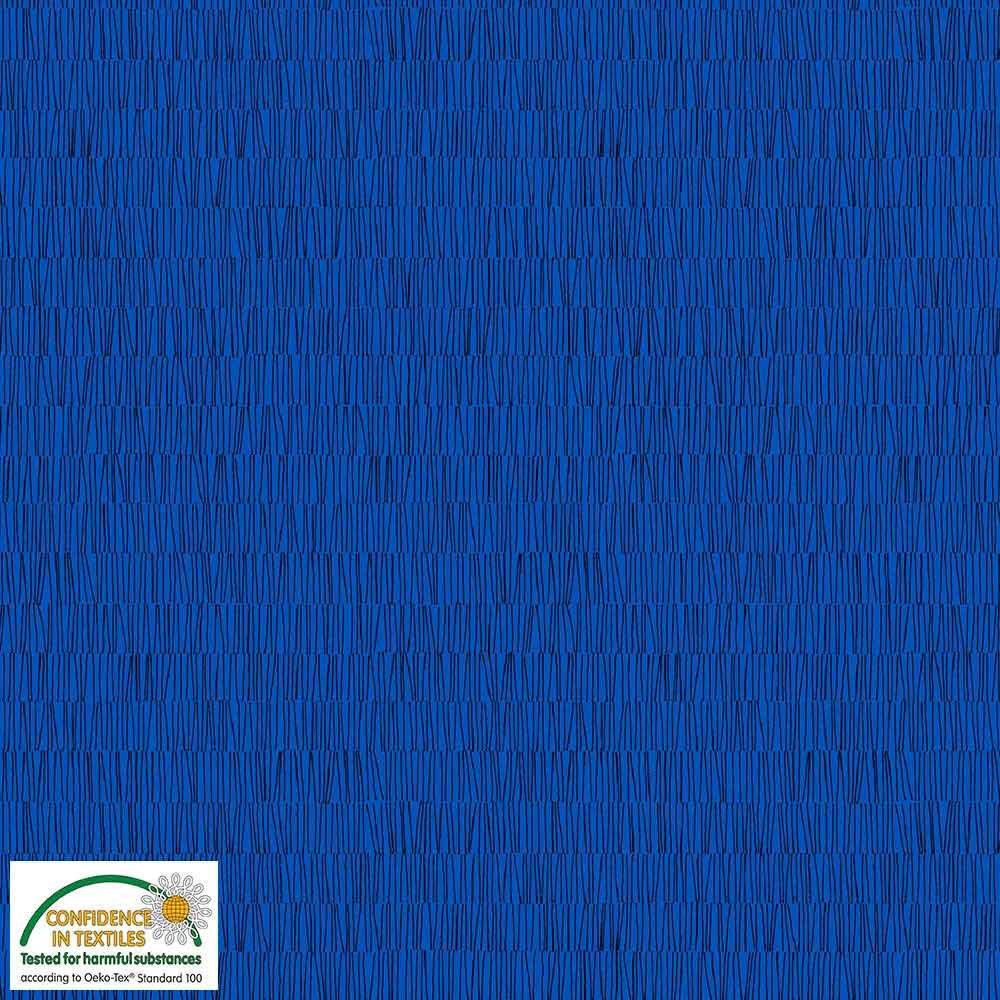 Quilters Combination Lines Cobalt 024