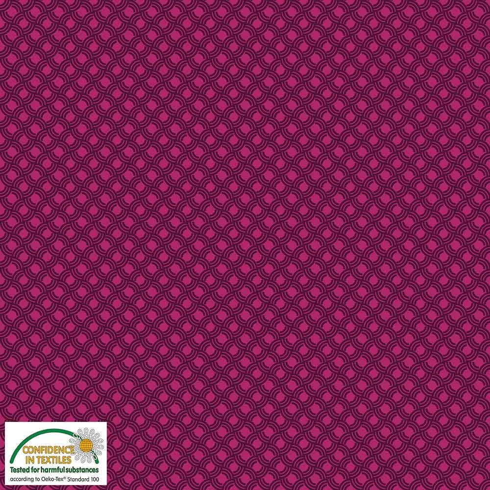 Quilters Combination Graphic Design Pink 032