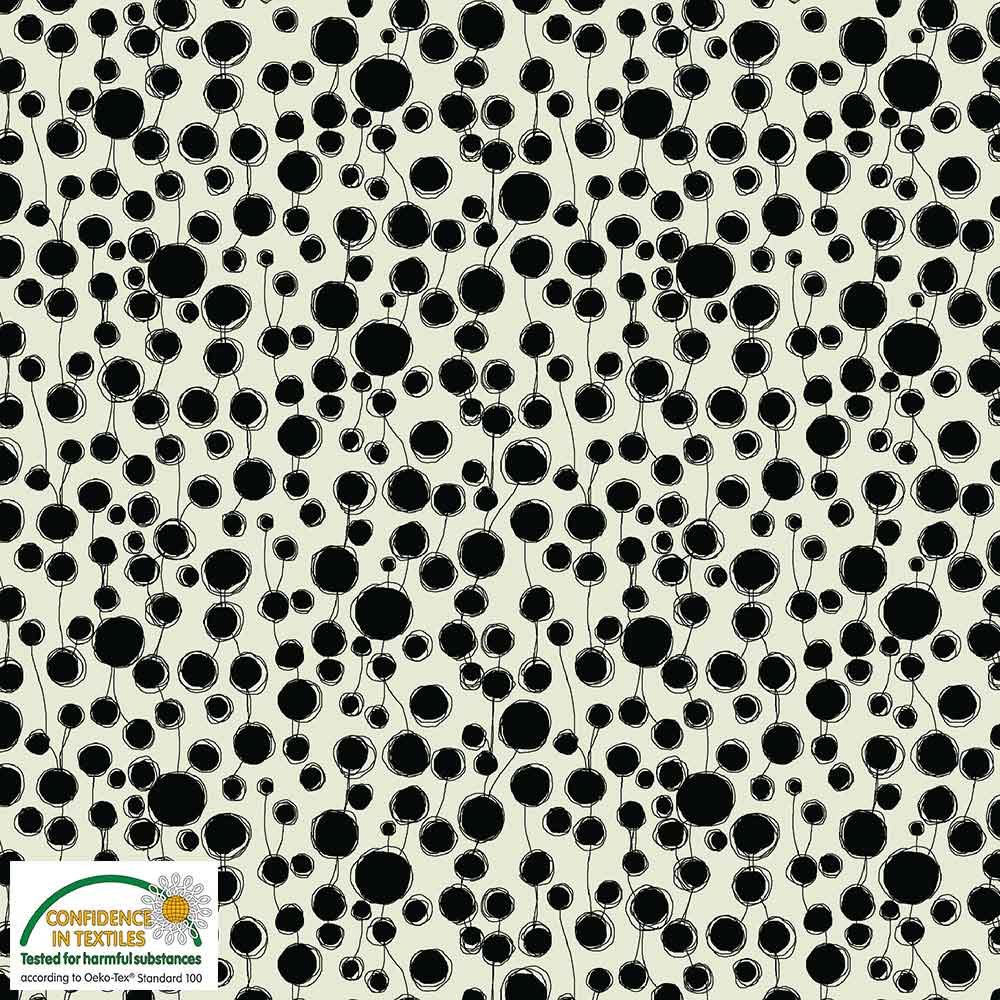Quilters Combination Circles & Lines Cream 054