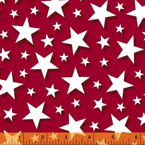 Pride and Honor Big Stars Red