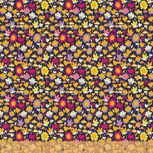 Solstice Lawn Buttercup Multi (54 wide)