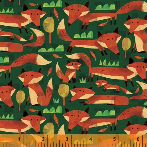 Woodland Little Foxes Forest