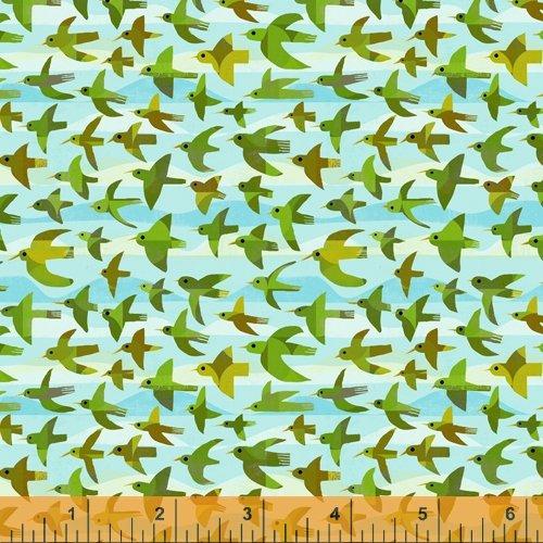 Woodland Flying Birds Sky