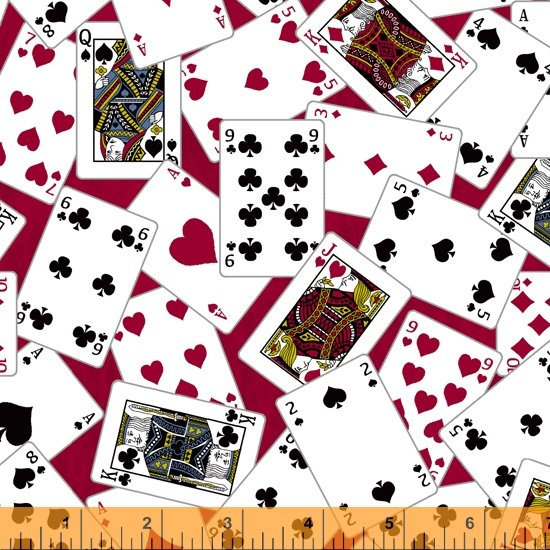 Man Cave Playing Cards Red