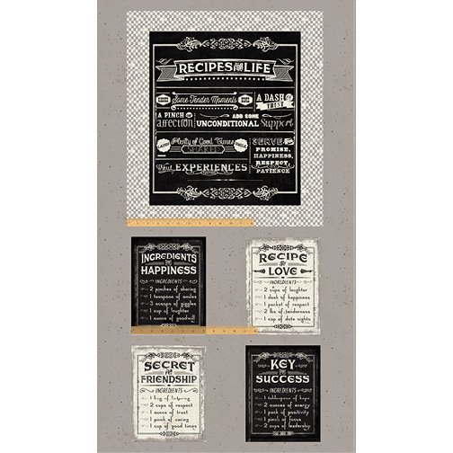 Life's Recipes Panel (24x42) #125