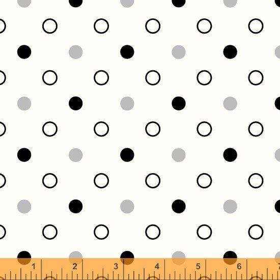 Dot Dot Dot Mixed Dot Ivory
